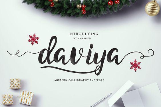 9 Beautiful Handwritten Modern Script Fonts - only $17! - MightyDeals