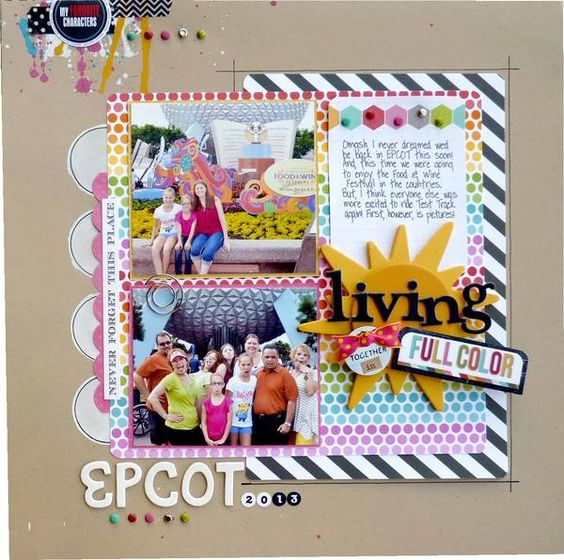 Living Together In Full Color by Colette Bate My Scraps and More Gallery