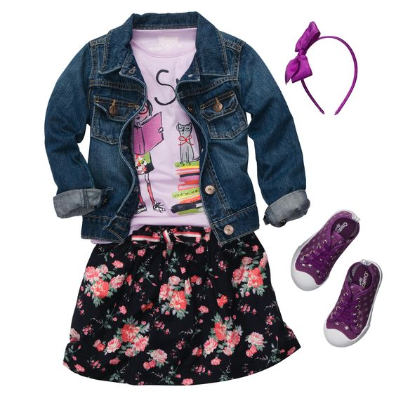 Little school girl outfit-7079