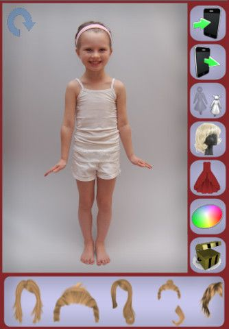 Try It On ($0.00) Don't settle for dressing up a cartoon character when you can dress up yourself. Get the app that gives you fully customizable and realistic pictures that you can share with the world!