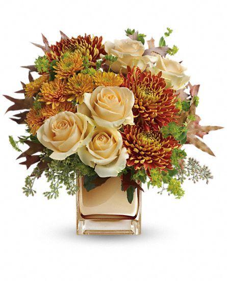 Teleflora's Autumn Romance Bouquet Flowers, Teleflora's Autumn Romance Flower Bouquet - Teleflora.com: