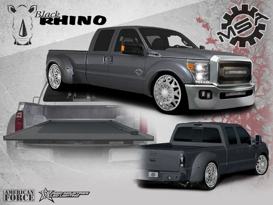 Dually Front Bumpers : F powerstroke dually quot american force baus
