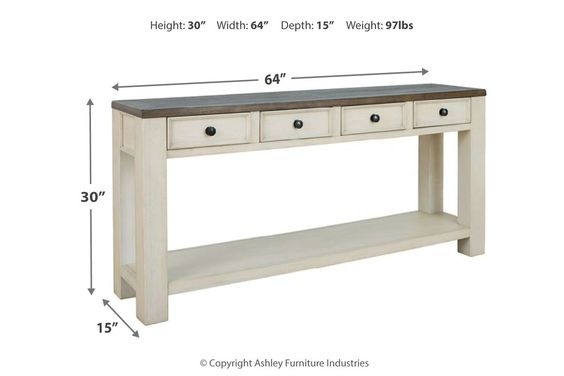 Bolanburg Sofa Console Table In 2020 Sofa Table Ashley Furniture Sofa Table Styling