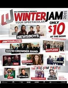 Winter Jam 2011    One of the best concerts ever! I am so happy I got to see David Crowder Band before they split!