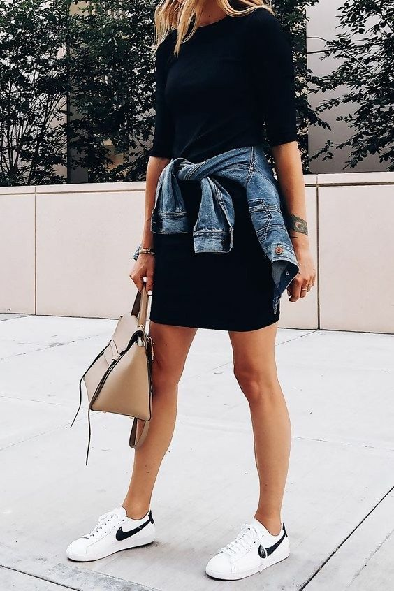 6 T-Shirt Dress Outfit Ideas You Should