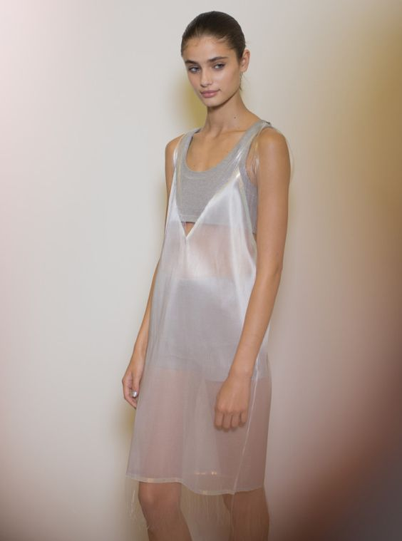 Richard Nicoll RTW Spring 2015 backstage. Photo by Kevin Tachman.: