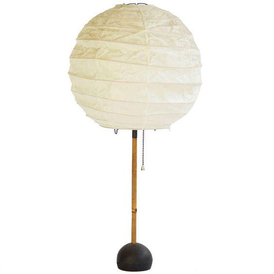 Early Isamu Noguchi Lamp
