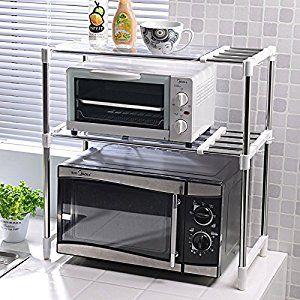 Lfnrr Haute Qualite Maison De Stockage Double Four A Micro Ondes Four A Micro Ondes Multifonc Meuble Rangement Cuisine Rangement Cuisine Idee Rangement Cuisine