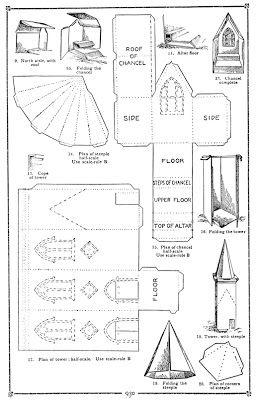 Plush Possum Studio: Family Fun Project: A Church Model Out of Paper