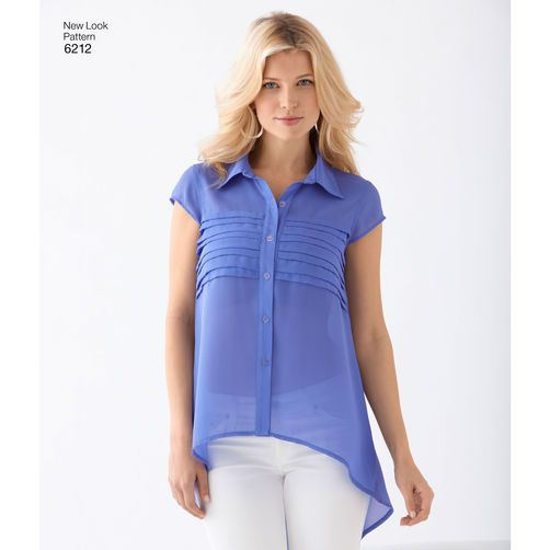 New Look Pattern 6212 Misses' Tops: