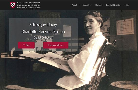 Digitized Collections | Radcliffe Institute for Advanced Study at Harvard…