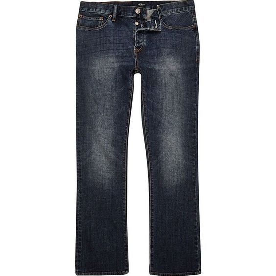 Mens bootcut jeans, Dark blue and Tall men on Pinterest