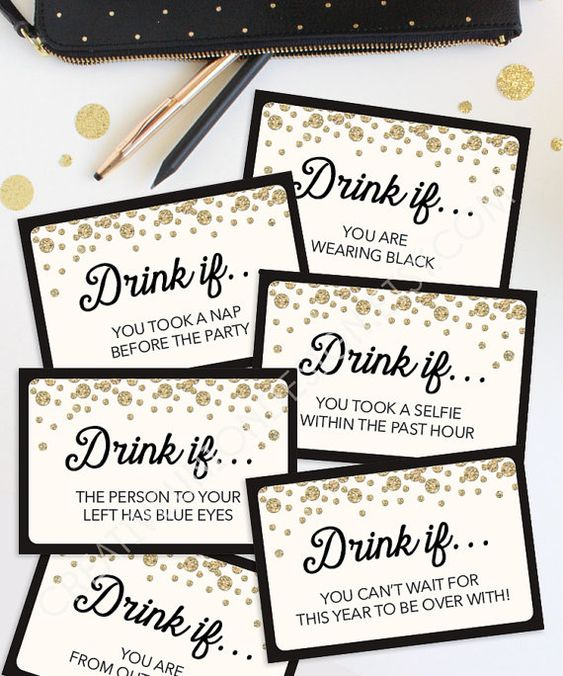 New Years Eve Drinking Game