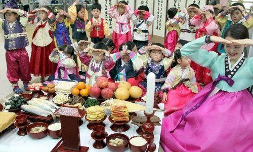 Ngày lễ tạ ơn Chuseok tại Hàn Quốc
