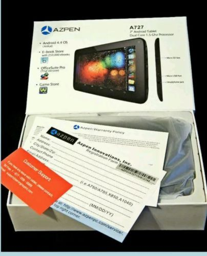 """New AZPEN  A727  7"""" Android Tablet New Never Removed from Box https://t.co/srL23qfCSY https://t.co/Pa7fmtLSJE"""