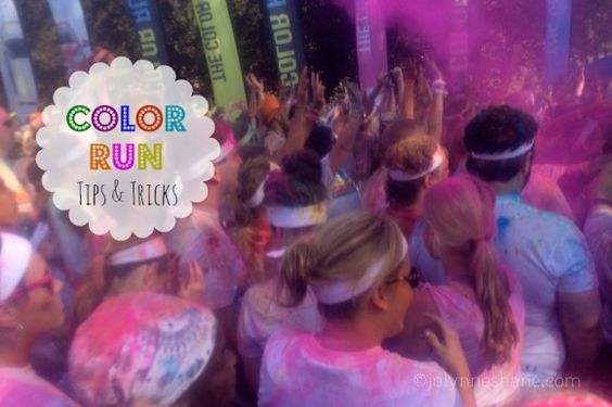 awesome tips on how to get clean/keep phone safe etc during colour run