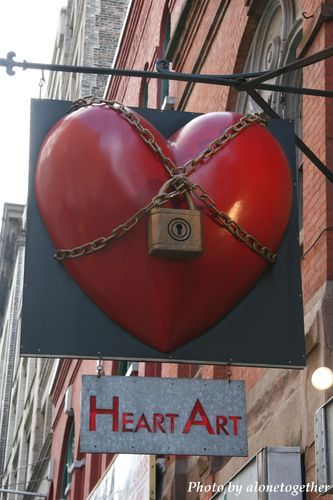 Heart art, In new york and Heart on Pinterest