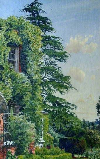 STANLEY SPENCER  Englefield House, Cookham (1951)