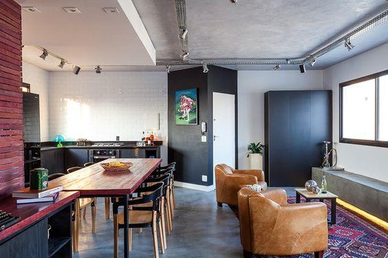 Inspiração –  Apartamento com estilo industrial em Pinheiros - http://comosefaz.eu/inspiracao-apartamento-com-estilo-industrial-em-pinheiros/