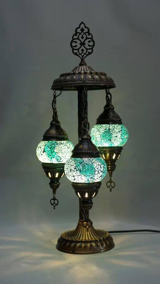 3 Globe Mosaic Table Lamp Handmade Table Lamp Turkish Table Etsy In 2021 Turkish Mosaic Lamp Lamp Decor Mosaic Table