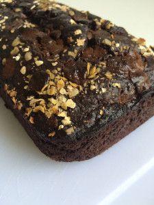 Chocolade havermout bananenbrood