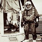 Joseph William Kittinger II is a retired Colonel in the US Air Force and a USAF Command Pilot. Following his initial operational assignment in fighter aircraft, he participated in Project Manhigh and Project Excelsior in 1960, setting a world record for the highest skydive from a height greater than 31 kilometres (19 mi).[1] He was also the first man to make a solo crossing of the Atlantic Ocean in a gas balloon.