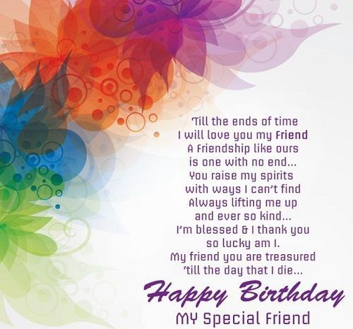 Pin By Wendy L On Friendship Quotes Birthday Wishes For Friend