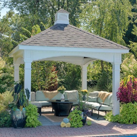 Hampton Pavilion Backyard Pavilion Pavillion Backyard Backyard Patio Designs