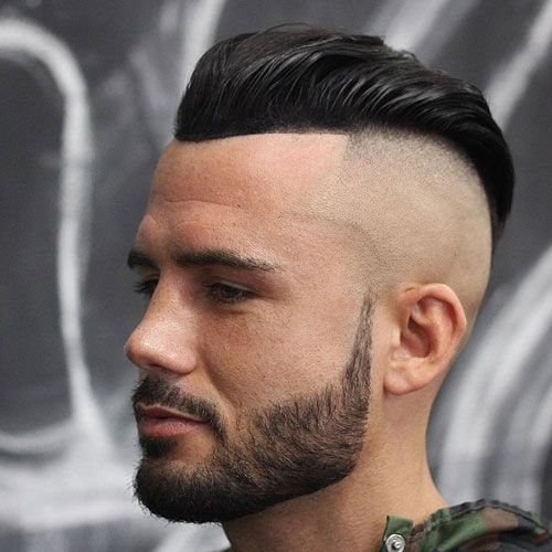37 Best Slicked Back Undercut Hairstyles For Men 2020 Guide Mens Hairstyles With Beard Beard Hairstyle Widows Peak Hairstyles