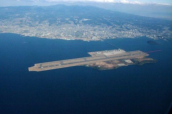 10. Nagasaki Airport, Japan.