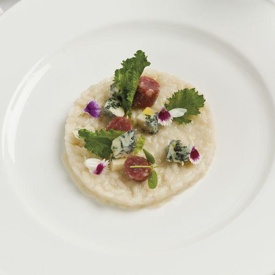 Risotto al gorgonzola, cime di rapa e salsiccia di Bra - Ricette Gorgonzola