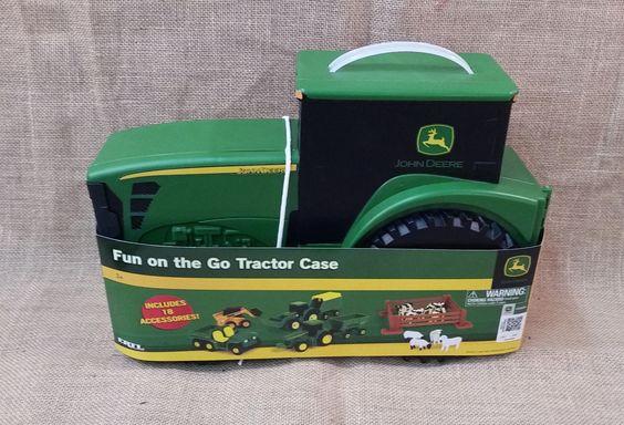 "John Deere ""Fun on the Go"" Tractor Case"