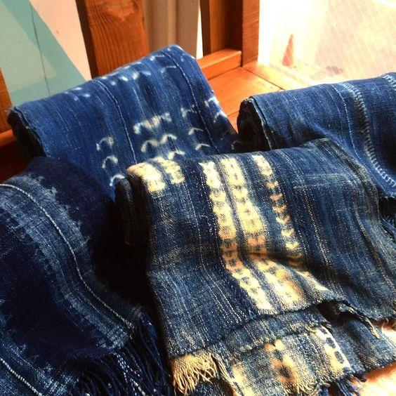African Indigo Fabric再入荷!! #standardcalifornia #スタンダードカリフォルニア #africanindigo #fabric #vintage