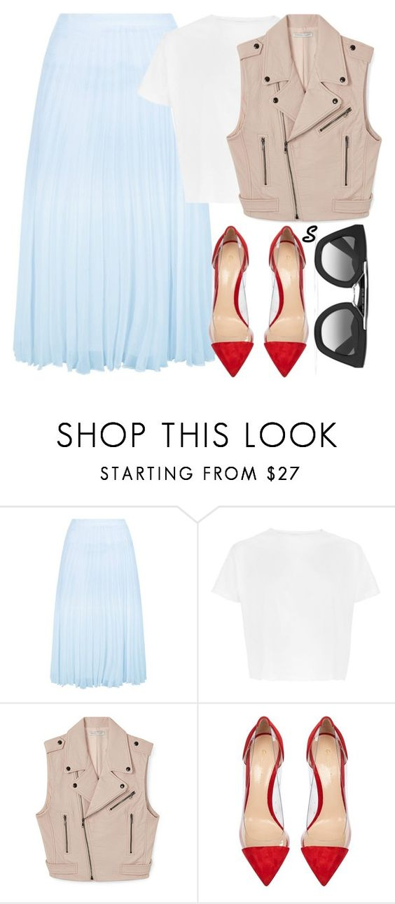 """Без названия #900"" by sabina-127 ❤ liked on Polyvore featuring New Look, Rebecca Minkoff, Gianvito Rossi and Prada"
