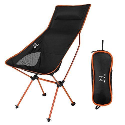 OUTAD Silla de Camping Plegable Silla de Pesca Folding Chair
