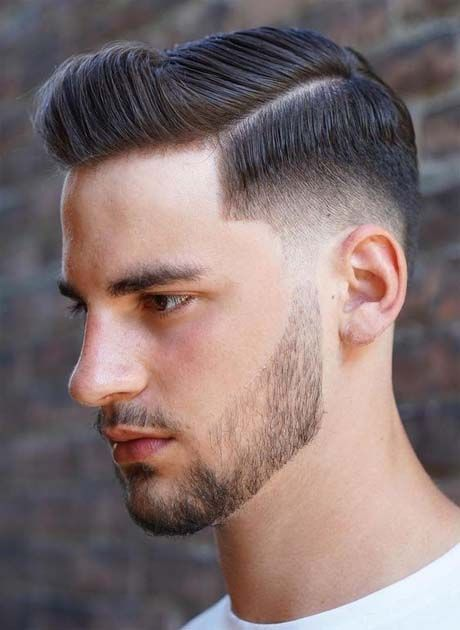 Classic Short with High Fade Hairstyle