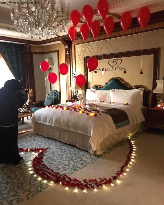 37 Fascinating Room Decoration Ideas For Anniversary Scheme In 2020 Romantic Room Surprise Romantic Hotel Rooms Romantic Room