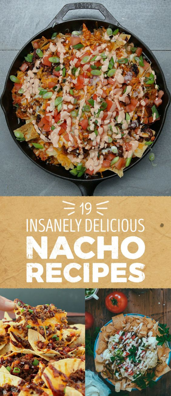 For all the nacho lovers here are 19 recipes that'll make your mouth water!