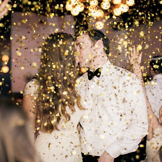 Brides.com: 23 Creative Wedding Exits Photo by Emily Steffen Photography: