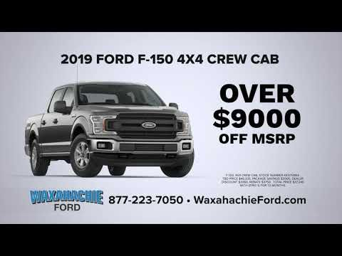 Shop Local And Save At Waxahachie Ford Truck Month In 2020