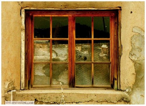 Old Window, Chama, New Mexico