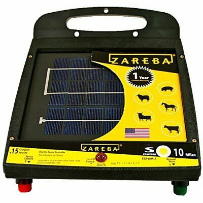 Sponsored Ebay 10milesolar Fen Charger By Woodstream Corp Fence Charger Electric Fence Solar