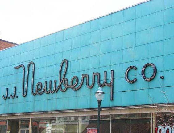 J J Newberry Store Signs My Old Kentucky Home The Good Old Days