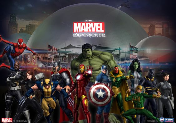 The Marvel Experience in Chicago