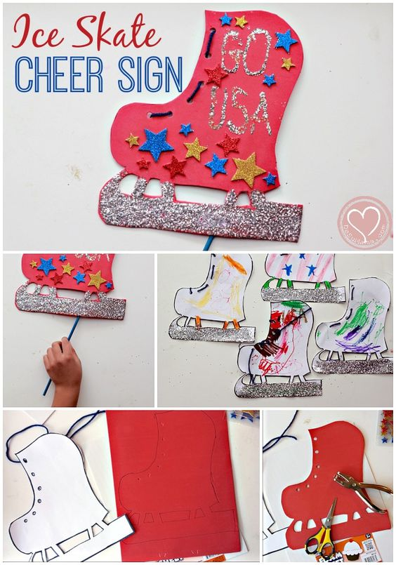 Crafts cheer and olympic crafts on pinterest for Cheerleading arts and crafts