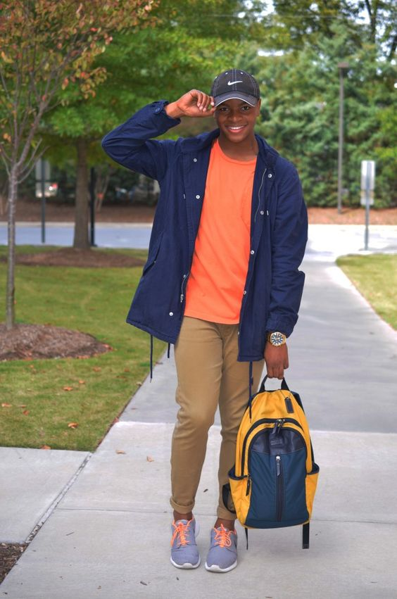 STYLE GURU STYLE: Just A Guy On The Run   College Fashion Trends and Style Tips