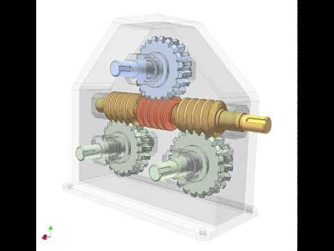 Worm Drive Gear Box For Solar Motor Transmission