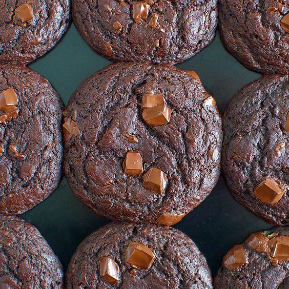 Healthified chocolate muffins