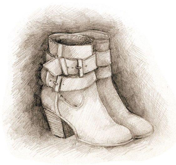 chaussures noel fete decembre cadeau - Amélie L. Illustration #womenfashion #christmas #fashion