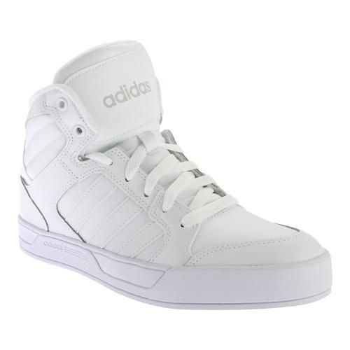Men's adidas Bbneo Raleigh Mid // | woofas | Pinterest | Adidas, Athletic  and White white